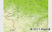 Physical Map of Euskirchen