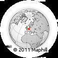 Outline Map of Euskirchen