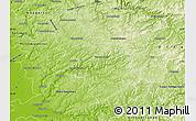 Physical Map of Oberbergischer Kreis