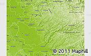 Physical Map of Rheinisch-Bergischer Kreis