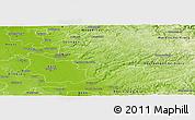 Physical Panoramic Map of Rheinisch-Bergischer Kreis