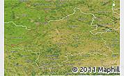 Satellite 3D Map of Münster