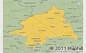 Savanna Style 3D Map of Münster