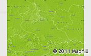 Physical Map of Coesfeld