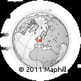 Outline Map of Coesfeld