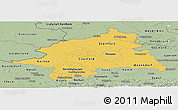 Savanna Style Panoramic Map of Münster