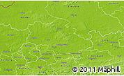 Physical 3D Map of Recklinghausen