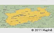 Savanna Style Panoramic Map of Nordrhein-Westfalen