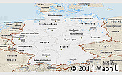 Classic Style Panoramic Map of Germany