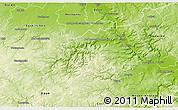 Physical 3D Map of Ahrweiler