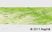 Physical Panoramic Map of Ahrweiler