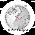 Outline Map of Koblenz