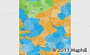 Political Map of Rheinland-Pfalz