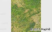 Satellite Map of Rheinland-Pfalz