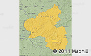 Savanna Style Map of Rheinland-Pfalz