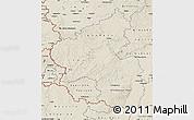 Shaded Relief Map of Rheinland-Pfalz