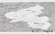 Gray Panoramic Map of Rheinland-Pfalz