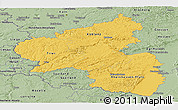 Savanna Style Panoramic Map of Rheinland-Pfalz