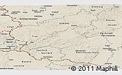 Shaded Relief Panoramic Map of Rheinland-Pfalz