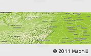 Physical Panoramic Map of Bad Dürkheim