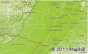 Physical 3D Map of Germersheim