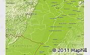 Physical Map of Germersheim