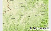 Physical Map of Daun