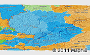 Political Shades Panoramic Map of Trier