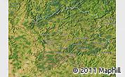 Satellite Map of Saarland