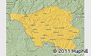 Savanna Style Map of Saarland