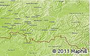 Physical 3D Map of Saar-Pfalz-Kreis