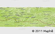 Physical Panoramic Map of Saar-Pfalz-Kreis