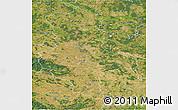 Satellite 3D Map of Sachsen-Anhalt