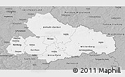 Gray 3D Map of Dessau