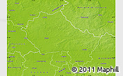 Physical Map of Anhalt-Zerbst