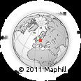 Outline Map of Anhalt-Zerbst