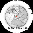 Outline Map of Dessau