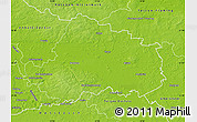 Physical Map of Wittenberg