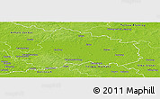 Physical Panoramic Map of Wittenberg