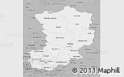 Gray 3D Map of Magdeburg