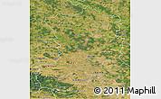 Satellite 3D Map of Magdeburg