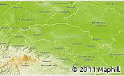 Physical 3D Map of Halberstadt