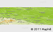Physical Panoramic Map of Halberstadt