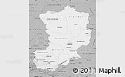 Gray Map of Magdeburg