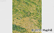 Satellite Map of Magdeburg