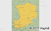 Savanna Style Map of Magdeburg