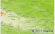 Physical 3D Map of Quedlinburg