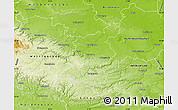 Physical Map of Quedlinburg