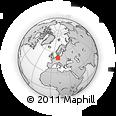 Outline Map of Quedlinburg