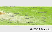 Physical Panoramic Map of Quedlinburg